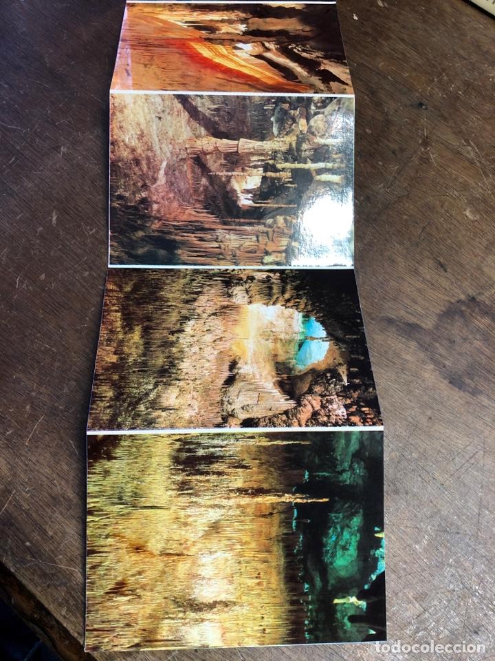 Postales: 10 postales en acordeón de las cuevas del drach (Mallorca) - Foto 4 - 234815885