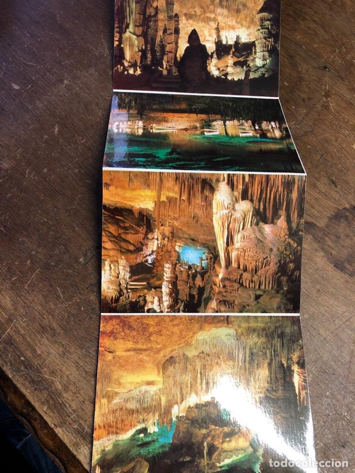 Postales: 10 postales en acordeón de las cuevas del drach (Mallorca) - Foto 5 - 234815885