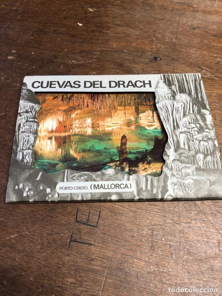 10 POSTALES EN ACORDEÓN DE LAS CUEVAS DEL DRACH (MALLORCA) (Postales - España - Sin Clasificar Moderna (desde 1.940))