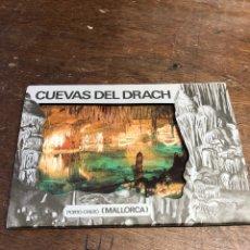 Postales: 10 POSTALES EN ACORDEÓN DE LAS CUEVAS DEL DRACH (MALLORCA). Lote 234815885