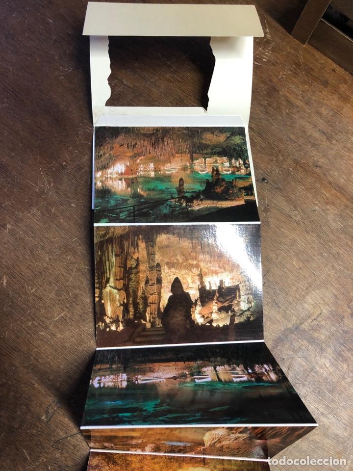 Postales: 10 postales en acordeón de las cuevas del drach (Mallorca) - Foto 3 - 234816155