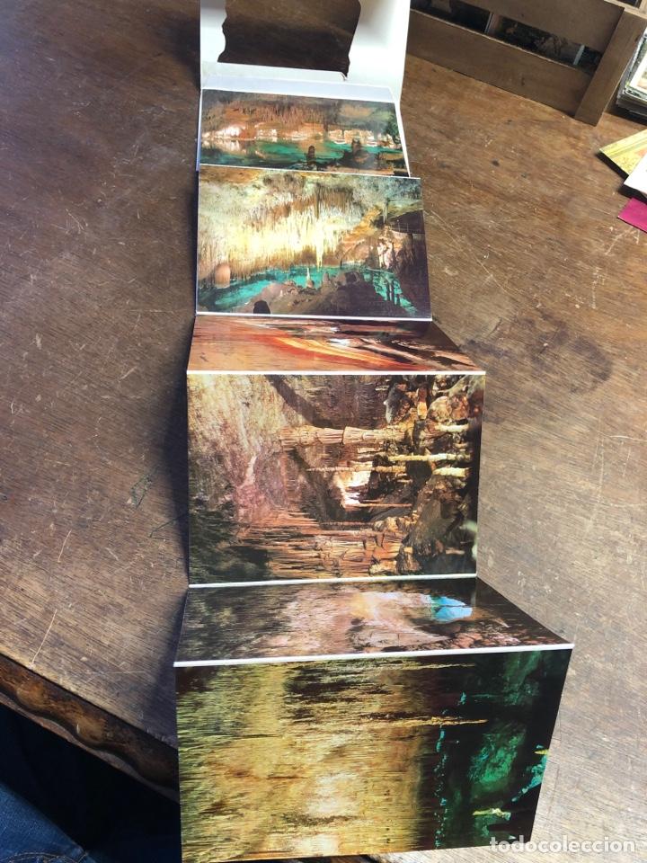 Postales: 10 postales en acordeón de las cuevas del drach (Mallorca) - Foto 4 - 234816155