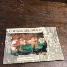 Postales: 10 POSTALES EN ACORDEÓN DE LAS CUEVAS DEL DRACH (MALLORCA). Lote 234816155