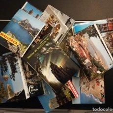 Postales: LOTE 10 MINI BLOC DE POSTALES. Lote 235819015