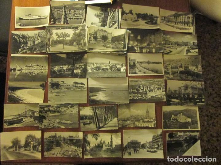 100 POSTALES EN BLANCO Y NEGRO ESPAÑA AÑOS 50-60 (Postales - España - Sin Clasificar Moderna (desde 1.940))