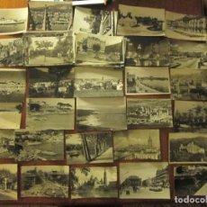 Postales: 100 POSTALES EN BLANCO Y NEGRO ESPAÑA AÑOS 50-60. Lote 235958410
