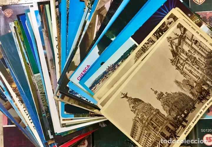 INCREIBLE LOTE MAS DE 350 POSTALES CIUDADES DE ESPAÑA MADRID ARAGON BURGOS ANDALUCIA PARIS (Postales - España - Sin Clasificar Moderna (desde 1.940))