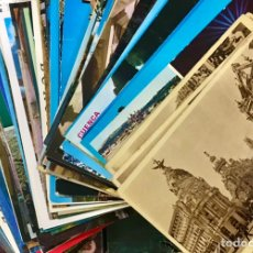 Postales: INCREIBLE LOTE MAS DE 320 POSTALES CIUDADES DE ESPAÑA MADRID ARAGON BURGOS ANDALUCIA PARIS. Lote 236057975