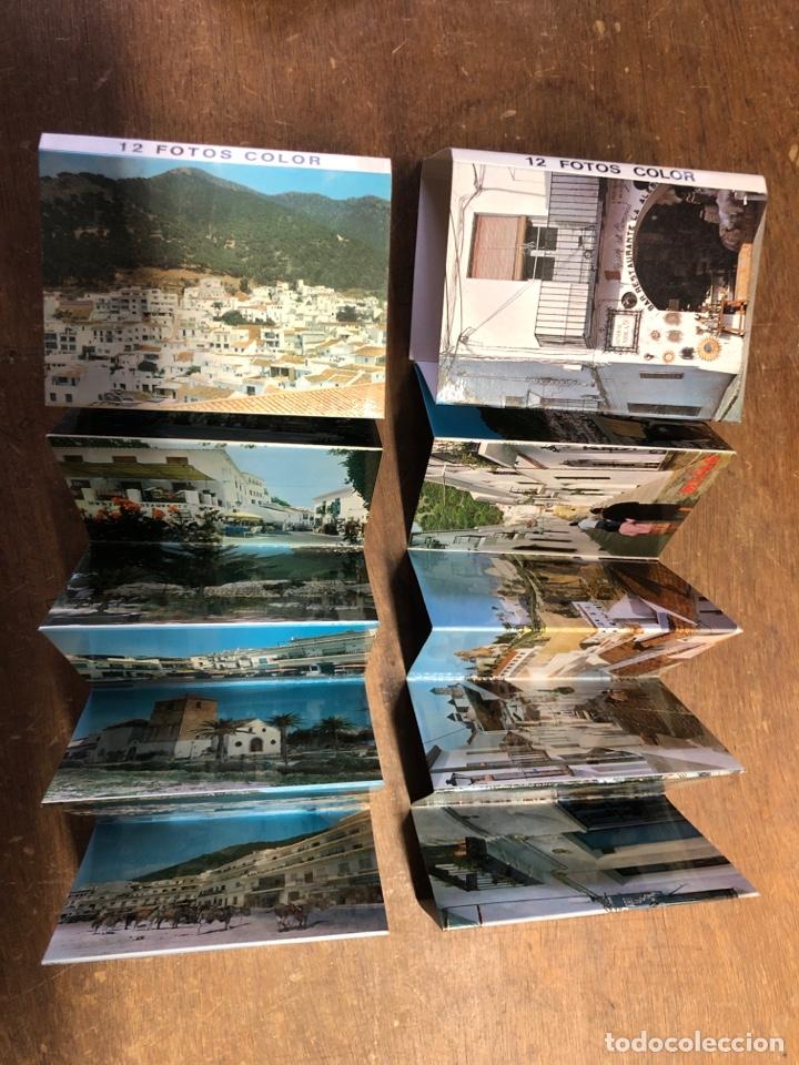 Postales: 24 fotografías en acordeón de MIJAS 10,30x7,5cm - Foto 2 - 236094190
