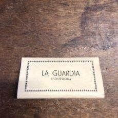 Postales: 10 FOTOGRAFÍAS EN ACORDEÓN DE LA GUARDIA (PONTEVEDRA). Lote 236100430
