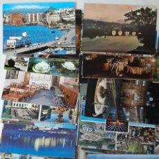 Postales: LOTE DE 60 POSTALES EN COLOR. LA MAYORIA DE ESPAÑA. SOLO UNA REPETIDA. Lote 236978365