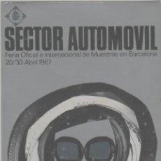 Postales: LOTE Z-POSTAL FERIA DEL AUTOMOVIL COCHES AÑO 1967 FERIA BARCELONA. Lote 238067550