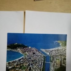 Postales: POSTAL SAN SEBASTIAN. VISTA AÉREA.. Lote 238749280