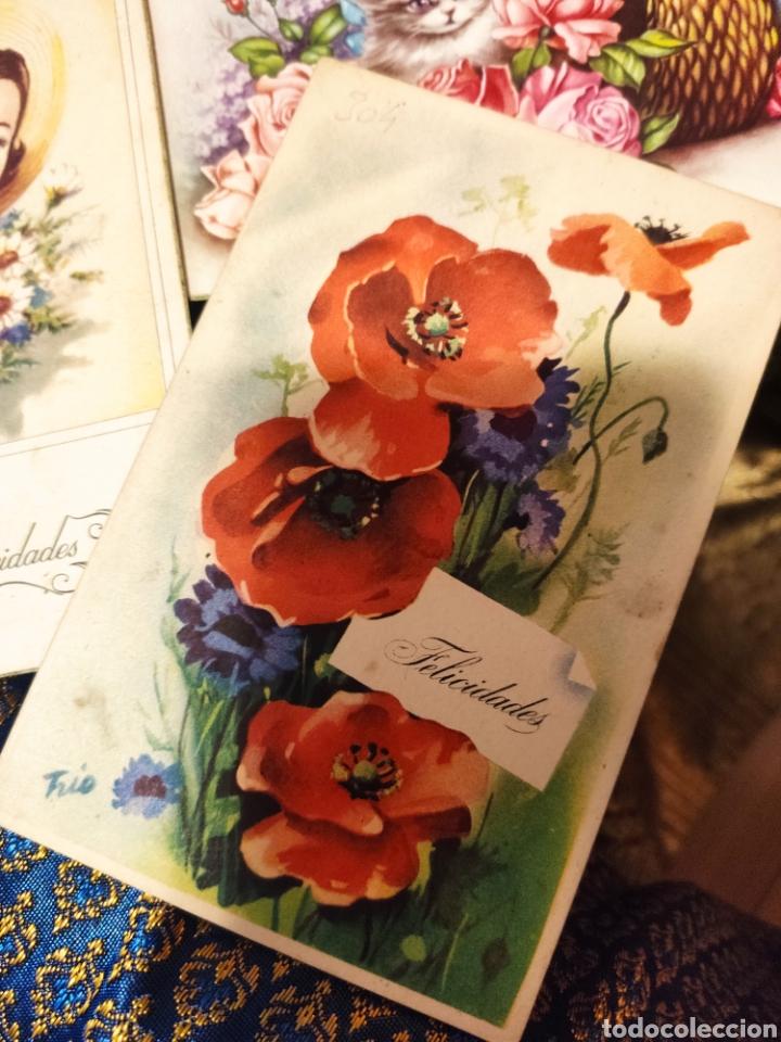 Postales: 9 tarjetas postales. Felicidades - Foto 2 - 239961415