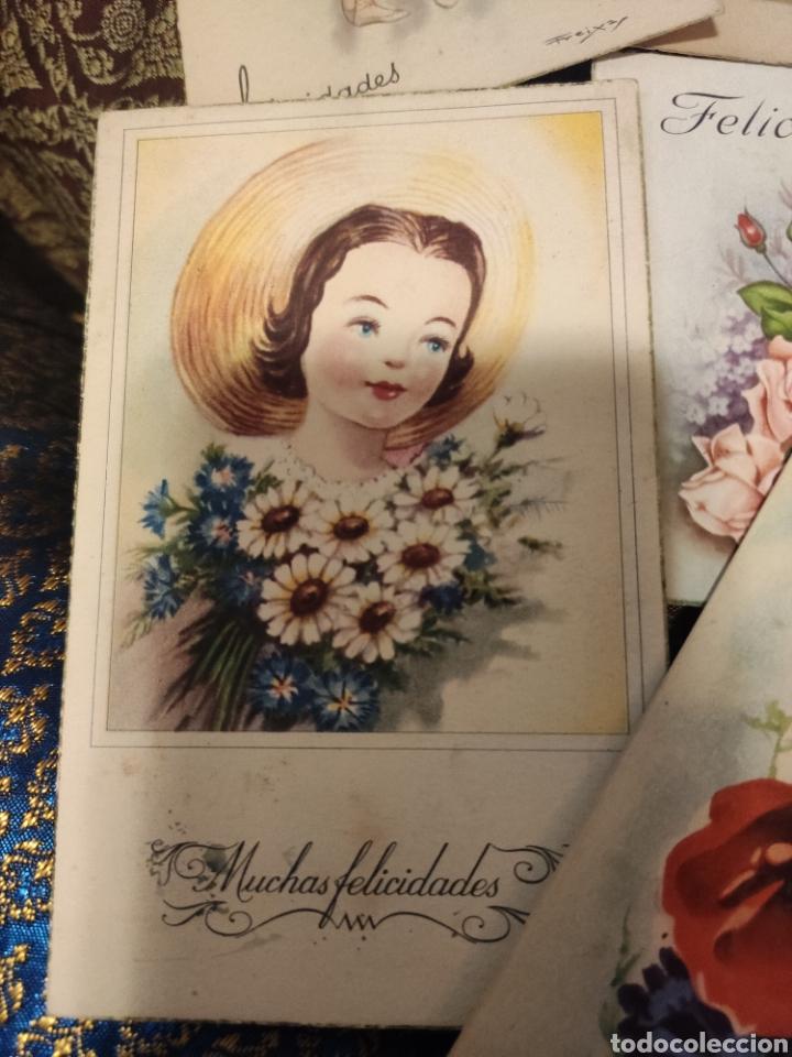 Postales: 9 tarjetas postales. Felicidades - Foto 3 - 239961415