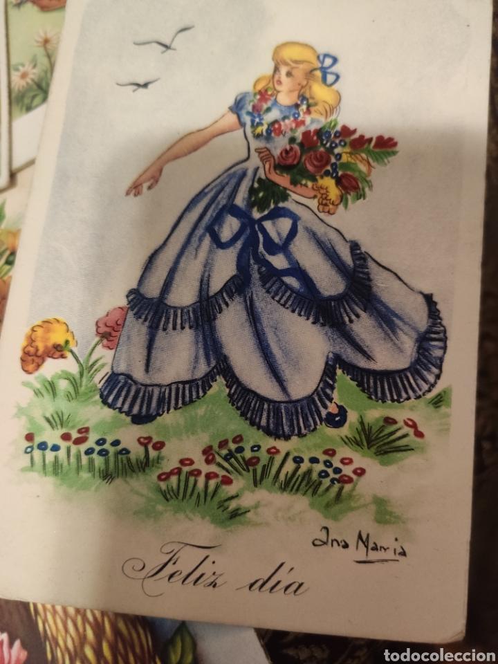 Postales: 9 tarjetas postales. Felicidades - Foto 4 - 239961415