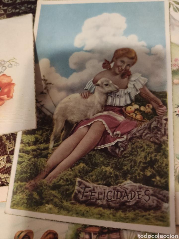 Postales: 9 tarjetas postales. Felicidades - Foto 6 - 239961415