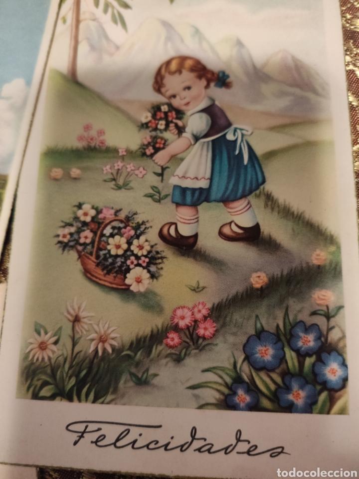 Postales: 9 tarjetas postales. Felicidades - Foto 7 - 239961415