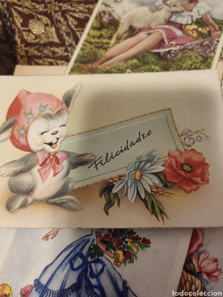 Postales: 9 tarjetas postales. Felicidades - Foto 8 - 239961415