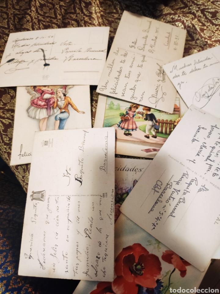 Postales: 9 tarjetas postales. Felicidades - Foto 9 - 239961415