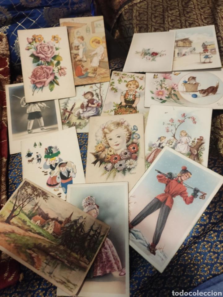Postales: 9 tarjetas postales. Felicidades - Foto 10 - 239961415