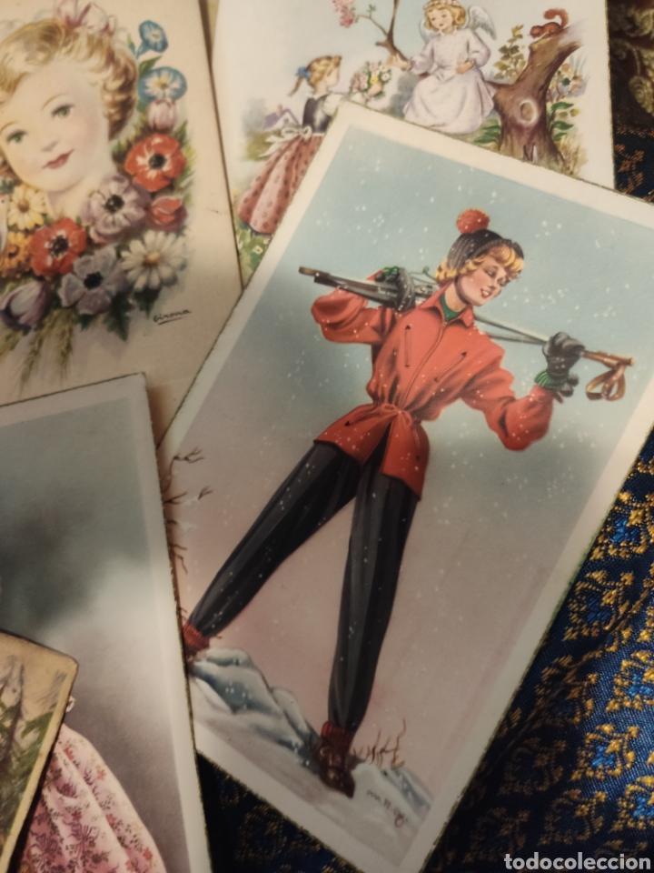 Postales: 9 tarjetas postales. Felicidades - Foto 11 - 239961415