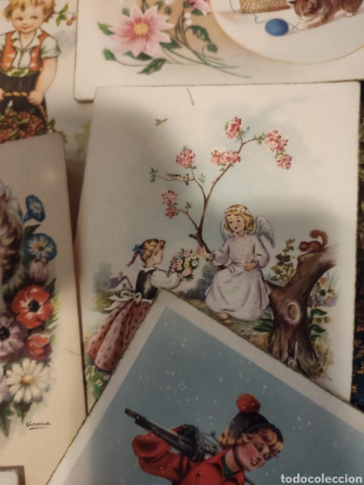Postales: 9 tarjetas postales. Felicidades - Foto 12 - 239961415