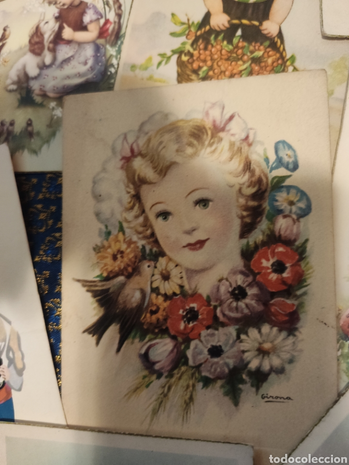 Postales: 9 tarjetas postales. Felicidades - Foto 13 - 239961415