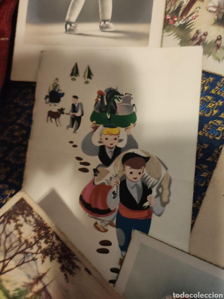Postales: 9 tarjetas postales. Felicidades - Foto 15 - 239961415