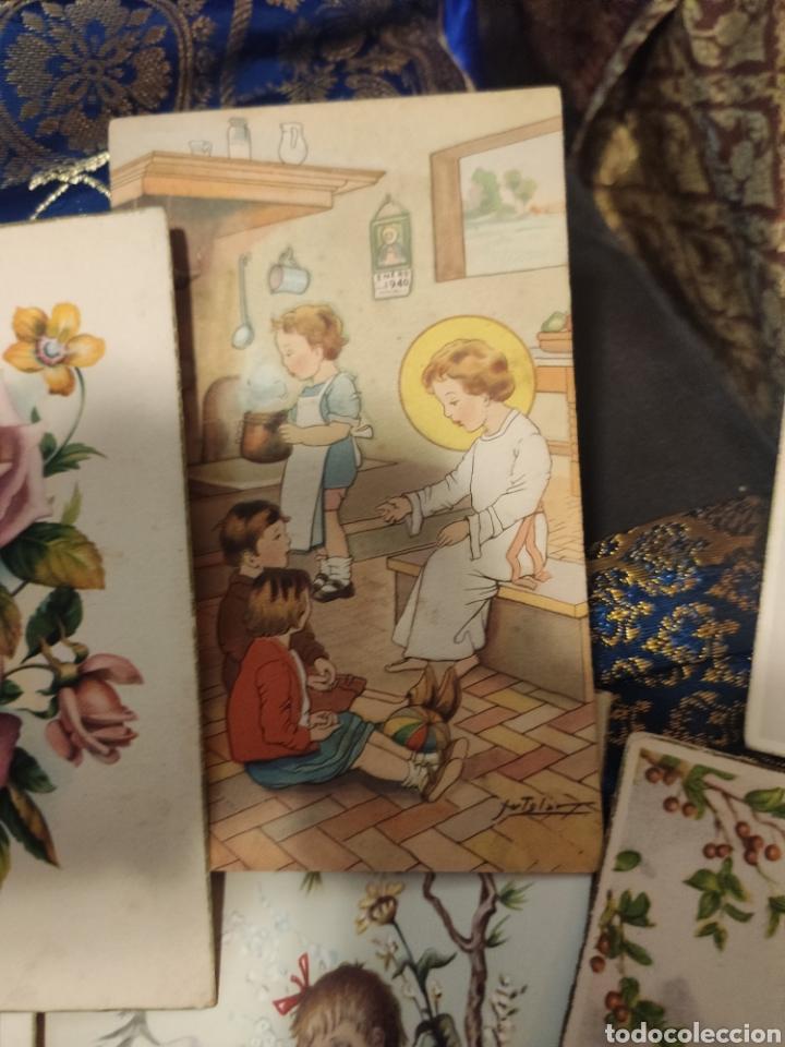 Postales: 9 tarjetas postales. Felicidades - Foto 17 - 239961415