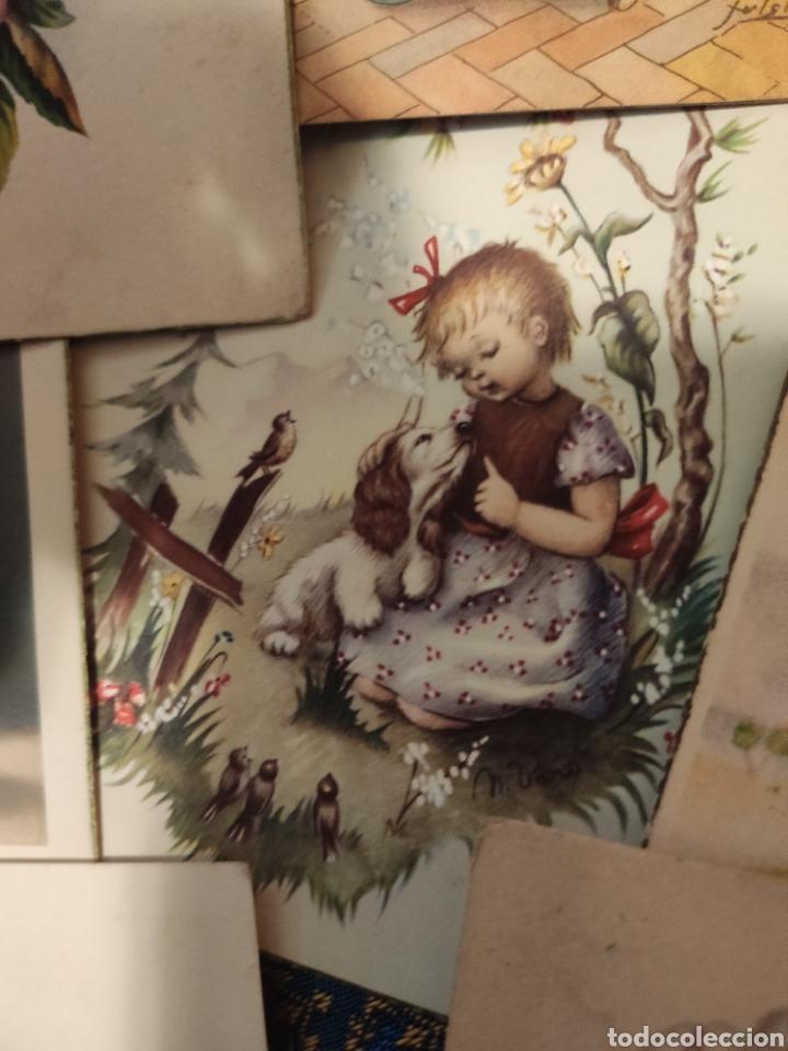 Postales: 9 tarjetas postales. Felicidades - Foto 21 - 239961415