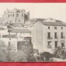 Postales: POSTAL DOBLE NO LOCALIZADA, CATEDRAL EN PUEBLO ESPAÑOL, NO CIRCULADA.. Lote 240601165