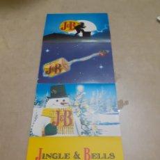 Postales: LOTE 4 POSTALES WHISKY JB SIN USAR. Lote 243066095