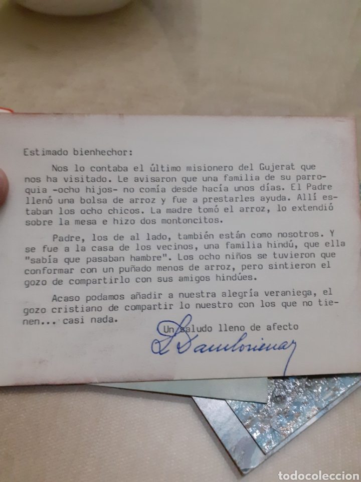 Postales: ¿ postal? Foto misioneros - Foto 2 - 243070375