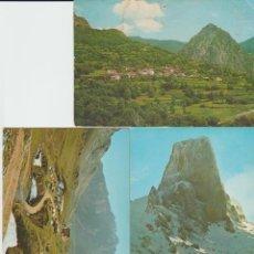 Postales: LOTE TRES POSTALES, PICOS DE EUROPA.. Lote 243462565