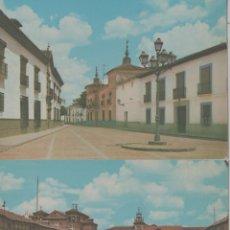 Postales: LOTE POSTALES ALMAGRO CIUDAD REAL 1966. Lote 243643590