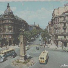 Postales: LOTE B- POSTAL BILBAO 1960 PEQUEÑO CORTE ARRIBA. Lote 243645125