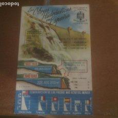 Postales: ANTIGUA POSTAL LAS OBRAS HIDRAULICAS EN ESPAÑA - NO CIRCULADA - ED. PRESIDENCIA DE GOBIERNO.. Lote 245126175