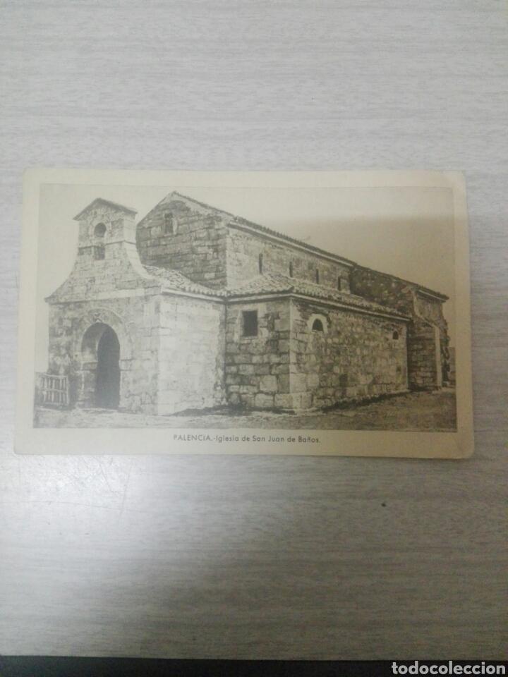 POSTAL PALENCIA IGLESIA DE SAN JUAN DE BAÑOS N 33 ESTAMPERIA DE ARTE (Postales - España - Sin Clasificar Moderna (desde 1.940))