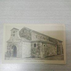 Postales: POSTAL PALENCIA IGLESIA DE SAN JUAN DE BAÑOS N 33 ESTAMPERIA DE ARTE. Lote 245267765