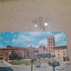 Postales: ANTIGUA POSTAL RIPOLL PLAZA DEL CAUDILLO ABAD OLIBE. Lote 245400445
