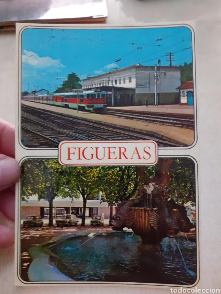 ANTIGUA POSTAL FIGUERAS SIN USAR (Postales - España - Sin Clasificar Moderna (desde 1.940))