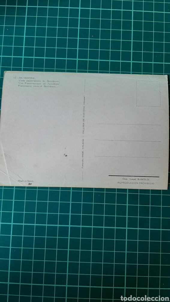 Postales: POSTAL BENIDORM ALICANTE VINTAGE COLECCIONISMO COLISEVM TODO EN PAPEL ANTIGUO - Foto 2 - 248661010