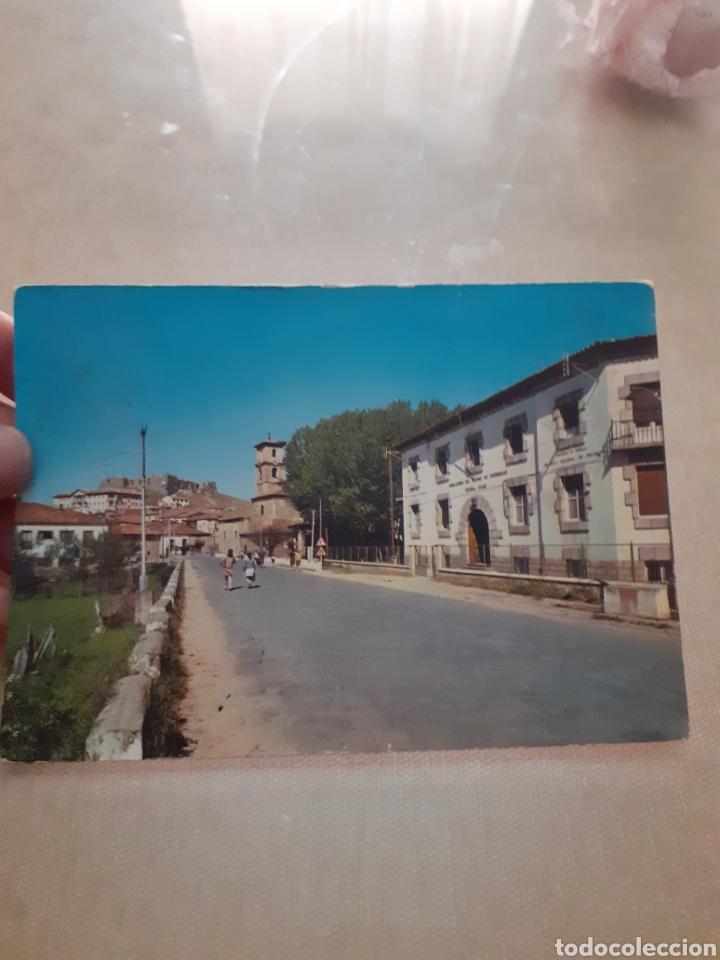 POSTAL ANTIGUA SAN LEONARDO DE YAGÜE SORIA ESCRITA (Postales - España - Sin Clasificar Moderna (desde 1.940))