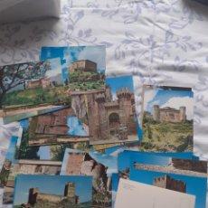 Postales: LOTE DE 36 POSTALES NUEVAS SERIE CASTILLOS DE ESPAÑA. Lote 251527580