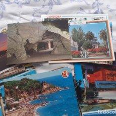 Postales: LOTE 147 POSTALES NUEVAS Y 8 USADAS DE ESPAÑA DE AÑOS 60 A AÑOS 90. Lote 251528120