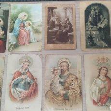 Postales: 10 POSTALES RELIGIOSAS AÑOS 40 CURSADAS Y SIN CURSAR. Lote 254119725