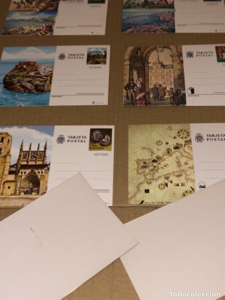 Postales: 8 tarjetas postales de España, 2 de ellas con mata sello - Foto 2 - 254689195