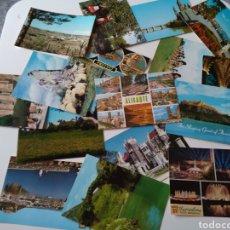 Postales: LOTE 16 POSTALES ESCRITAS PERO SIN SELLO, VINTAGE.. Lote 257299440