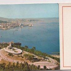Postales: VIGO.- VISTA AÉREA. FRANQUEADO Y FECHADO EN 1971. Lote 262682860